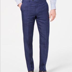 Ralph Lauren Classic UltraFlex Blue Plaid Suit
